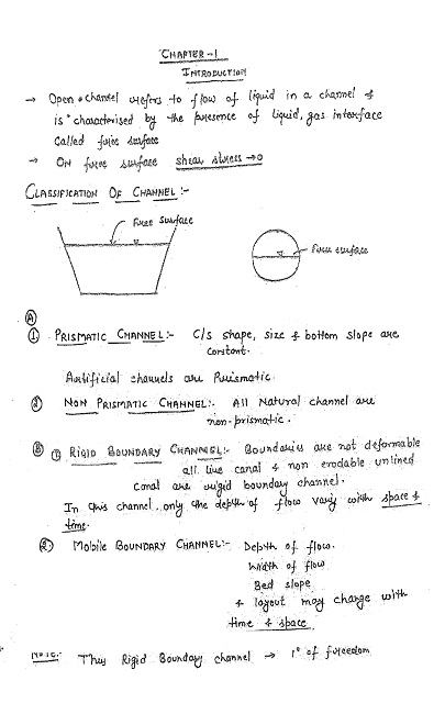 Civil Engineering IES MASTER HANDWRITTEN NOTES FOR ESE